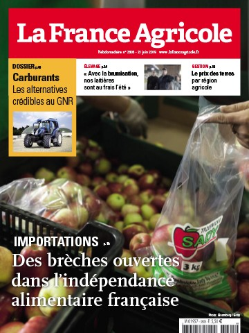 Couverture du magazine La France Agricole n°3805