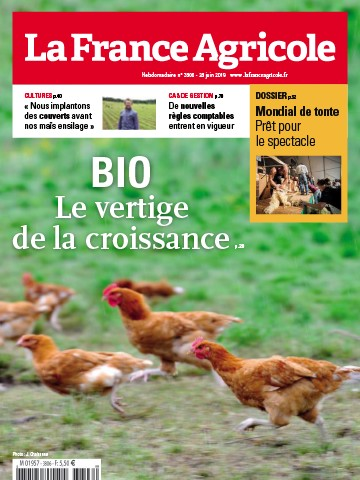 Couverture du magazine La France Agricole n°3806