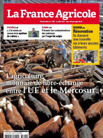 Couverture du magazine La France Agricole n°3807