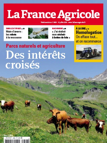 Couverture du magazine La France Agricole n°3808