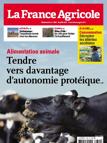 Couverture du magazine La France Agricole n°3809