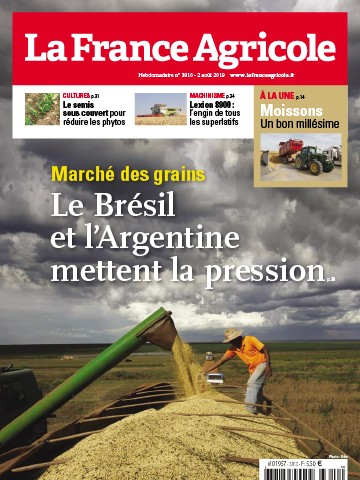 Couverture du magazine La France Agricole n°3810