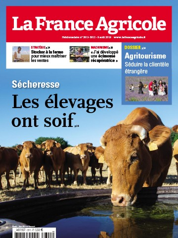 Couverture du magazine La France Agricole n°3811
