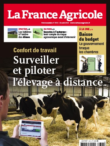 Couverture du magazine La France Agricole n°3813