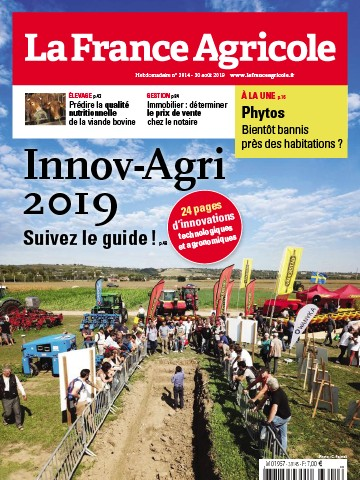 Couverture du magazine La France Agricole n°3814