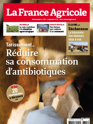 Couverture du magazine La France Agricole n°3815