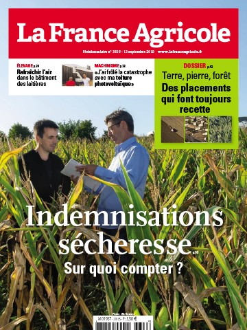 Couverture du magazine La France Agricole n°3816
