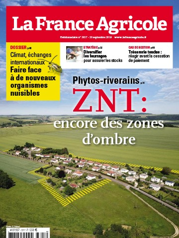 Couverture du magazine La France Agricole n°3817