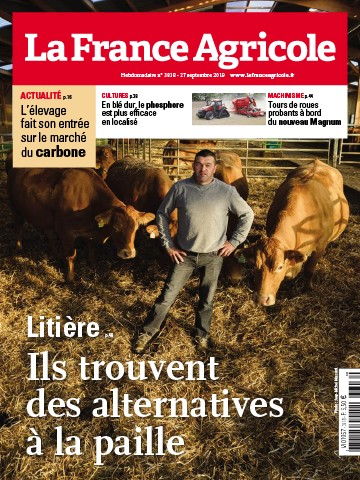 Couverture du magazine La France Agricole n°3818