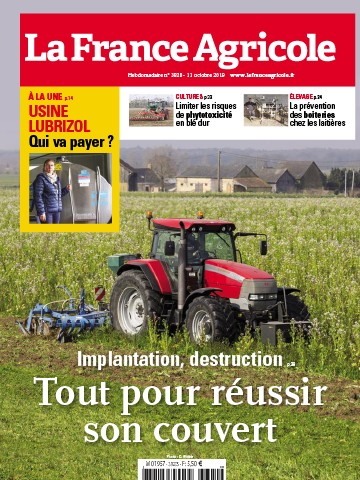 Couverture du magazine La France Agricole n°3820