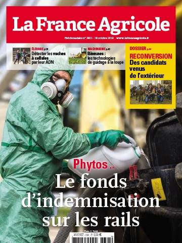 Couverture du magazine La France Agricole n°3821