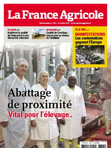 Couverture du magazine La France Agricole n°3822