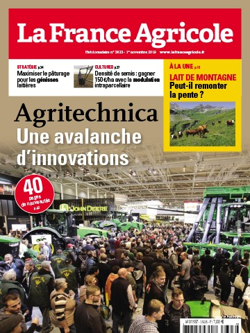 Couverture du magazine La France Agricole n°3823