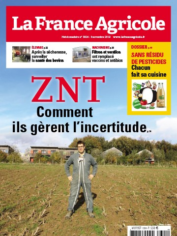 Couverture du magazine La France Agricole n°3824