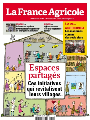 Couverture du magazine La France Agricole n°3825