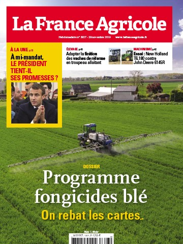 Couverture du magazine La France Agricole n°3827