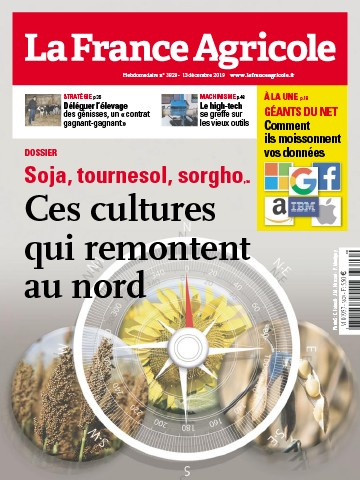Couverture du magazine La France Agricole n°3829