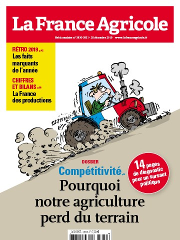 Couverture du magazine La France Agricole n°3830