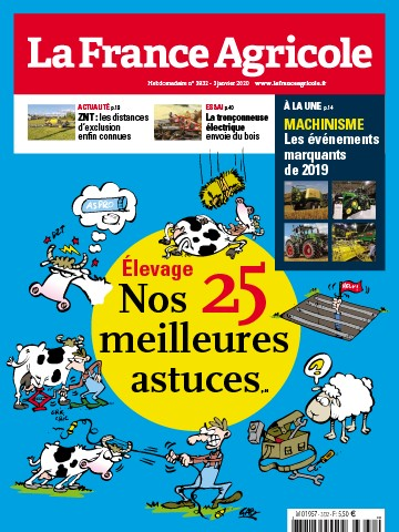 Couverture du magazine La France Agricole n°3832