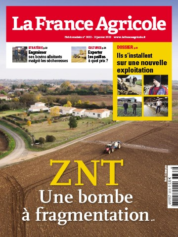 Couverture du magazine La France Agricole n°3833