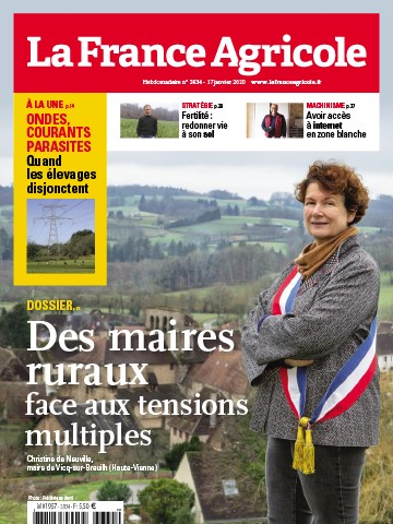 Couverture du magazine La France Agricole n°3834
