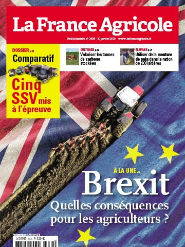 Couverture du magazine La France Agricole n°3836