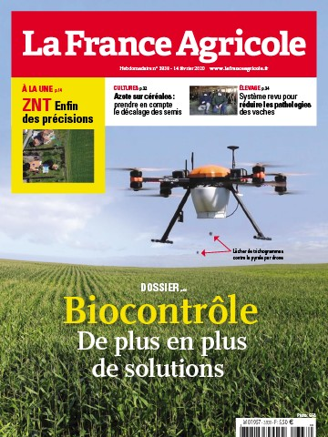 Couverture du magazine La France Agricole n°3838