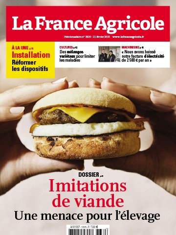 Couverture du magazine La France Agricole n°3839