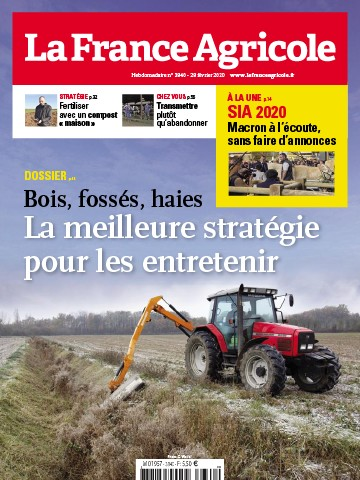 Couverture du magazine La France Agricole n°3840