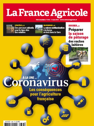 Couverture du magazine La France Agricole n°3841