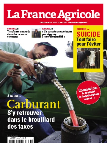 Couverture du magazine La France Agricole n°3843