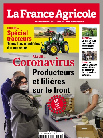 Couverture du magazine La France Agricole n°3844