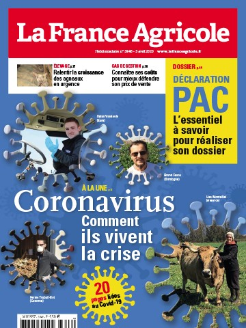 Couverture du magazine La France Agricole n°3846