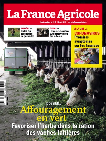 Couverture du magazine La France Agricole n°3847