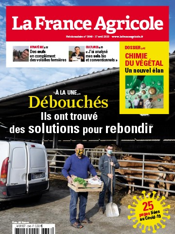 Couverture du magazine La France Agricole n°3848