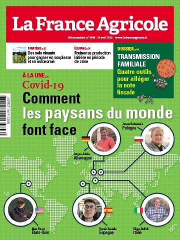 Couverture du magazine La France Agricole n°3849