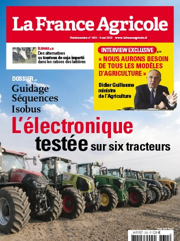 Couverture du magazine La France Agricole n°3851