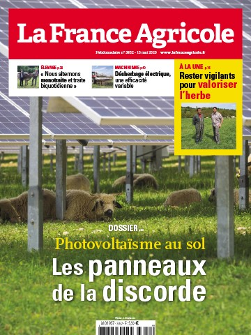 Couverture du magazine La France Agricole n°3852
