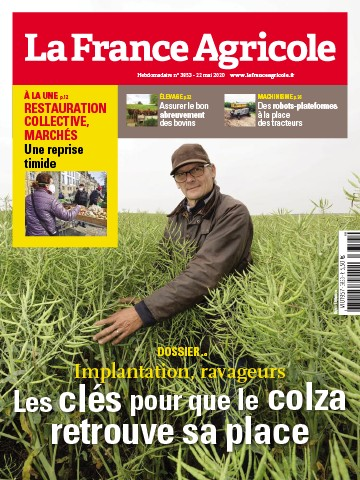 Couverture du magazine La France Agricole n°3853