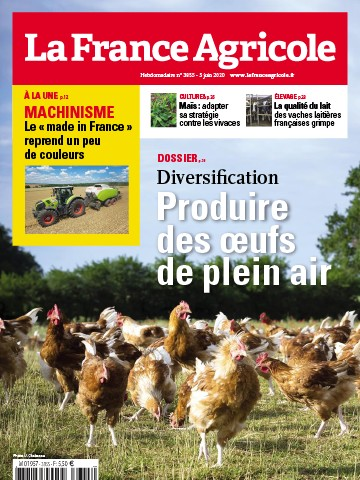Couverture du magazine La France Agricole n°3855