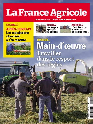 Couverture du magazine La France Agricole n°3856