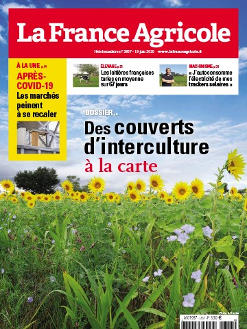 Couverture du magazine La France Agricole n°3857