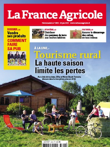 Couverture du magazine La France Agricole n°3858