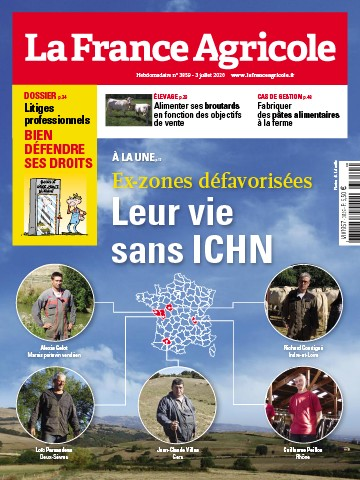 Couverture du magazine La France Agricole n°3859