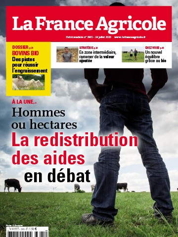 Couverture du magazine La France Agricole n°3861