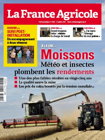 Couverture du magazine La France Agricole n°3862