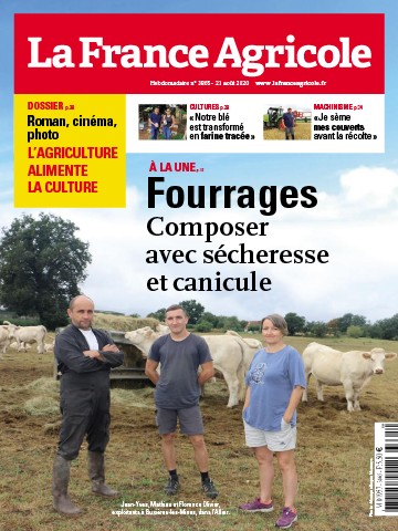 Couverture du magazine La France Agricole n°3865