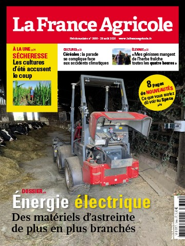 Couverture du magazine La France Agricole n°3866