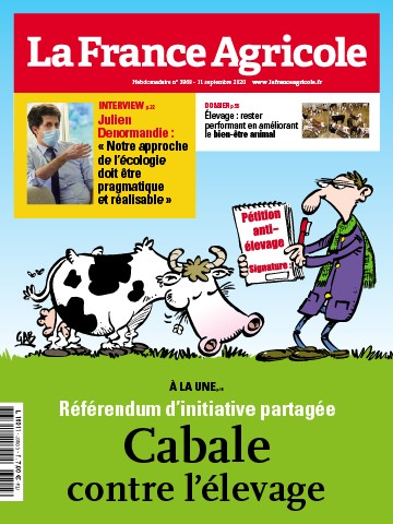 Couverture du magazine La France Agricole n°3868