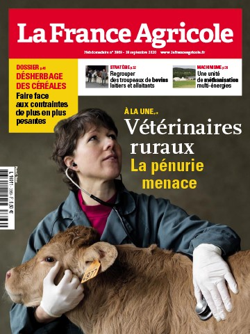 Couverture du magazine La France Agricole n°3869